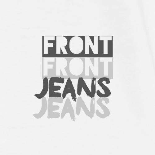 Front jeans - Herre premium T-shirt