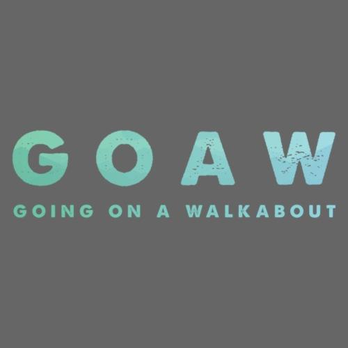 GOAW logo - Men's Premium T-Shirt
