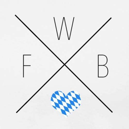 FBWL LOGO STANDART TRAN. - Männer Premium T-Shirt