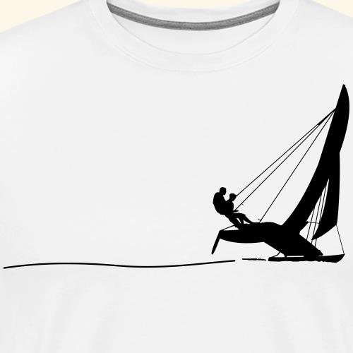Hobie Cat Sailing - Männer Premium T-Shirt