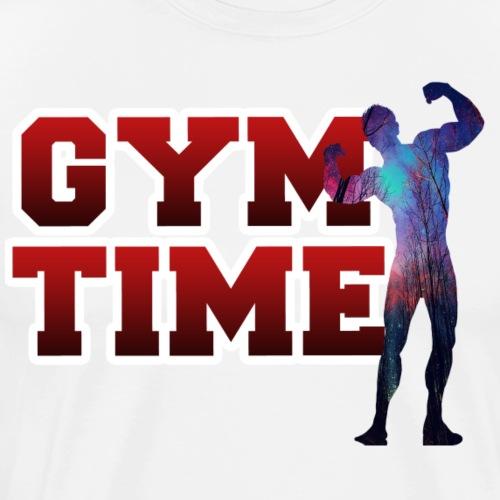Gym Time - Männer Premium T-Shirt