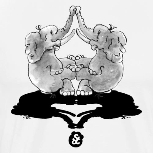 GLOBETROETER: LET´S GLOBETROET TOGETHER (1) [GS] - Männer Premium T-Shirt