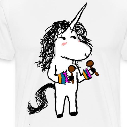 Unicornio Bailarin - Camiseta premium hombre