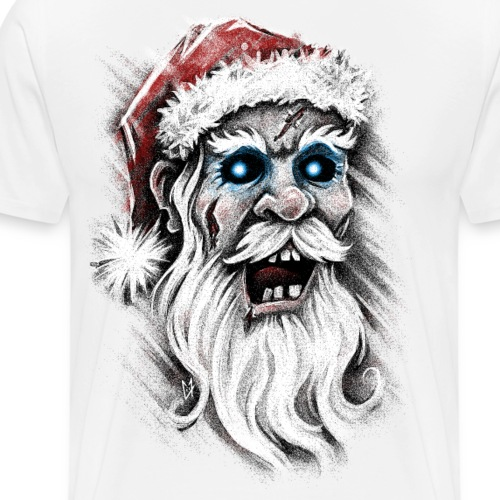 Zombie Santa Claus - Men's Premium T-Shirt