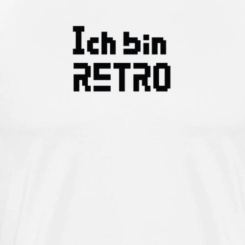 Retro Classic Old School - Männer Premium T-Shirt