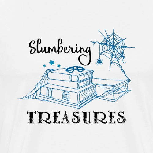 Slumbering Treasures - Black - Men's Premium T-Shirt