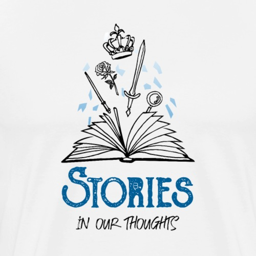 Stories In Our Thoughts - Black - Men's Premium T-Shirt