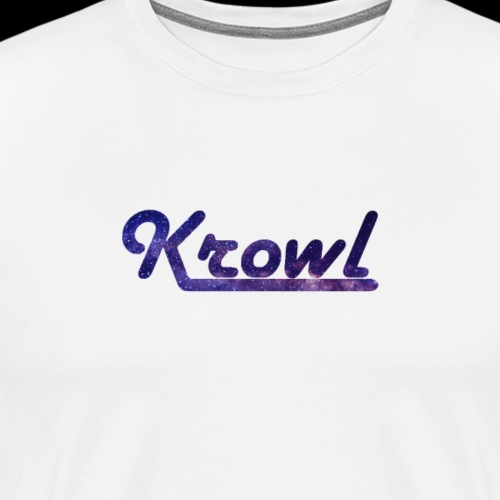 Krowl 1st Old Side Design - T-shirt Premium Homme