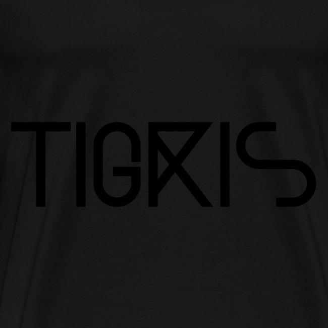 Tigris Vector Text Black