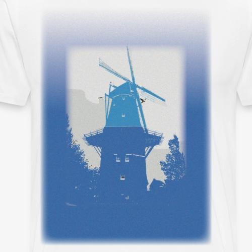 Mills blue - Maglietta Premium da uomo