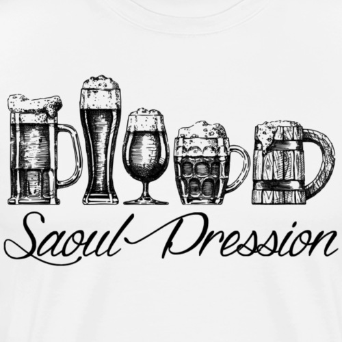 Saoul Pression - T-shirt Premium Homme