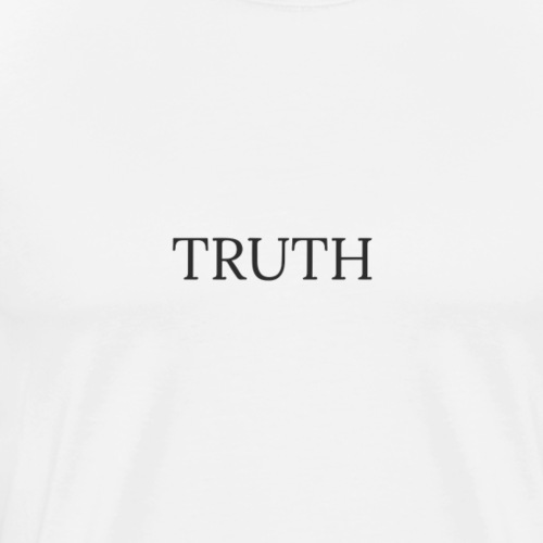 Truth by Howard Charles - Men's Premium T-Shirt