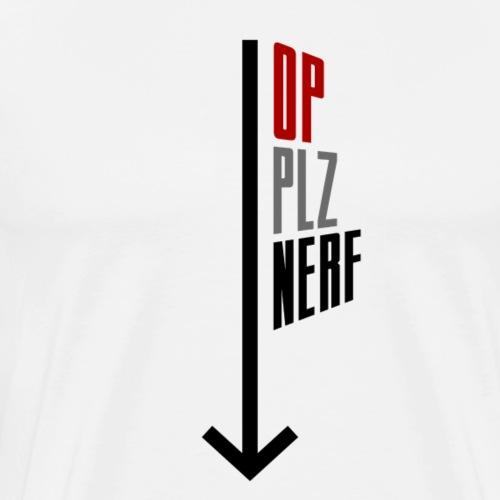 PLZ NERF - T-shirt Premium Homme