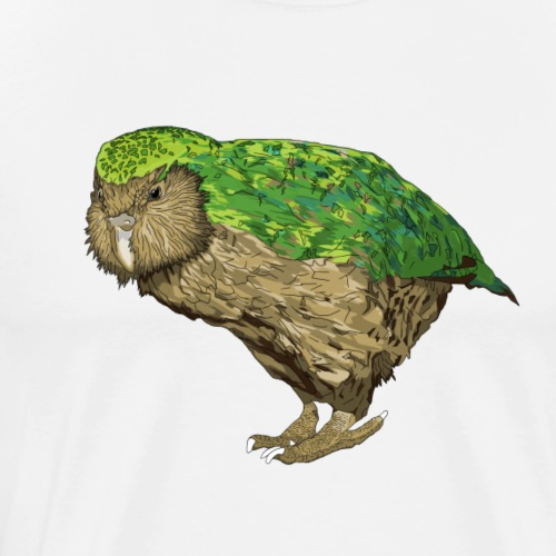 Kakapo - Men's Premium T-Shirt