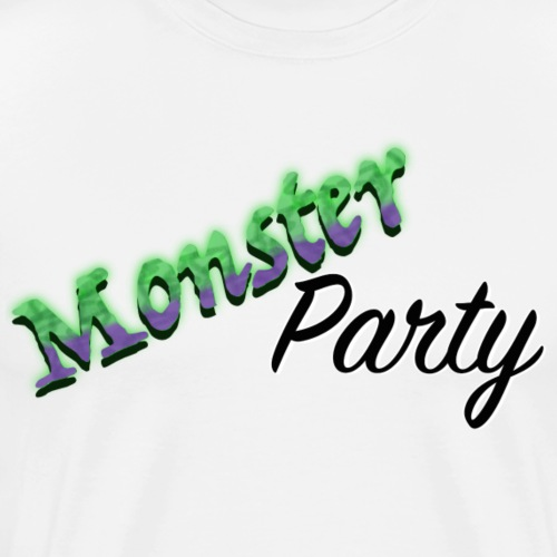Monster Party - Premium-T-shirt herr