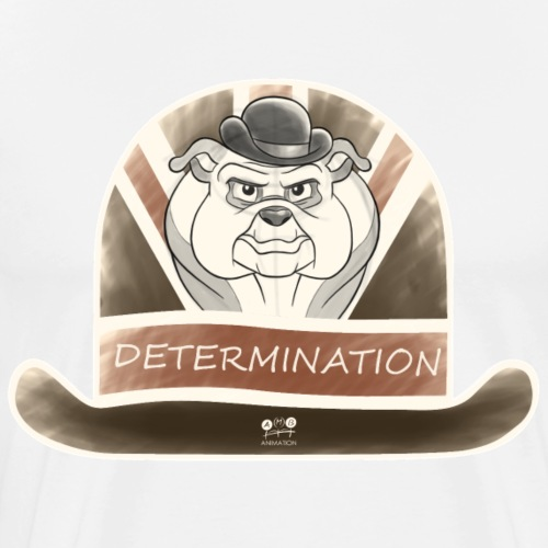 Bulldog Determination - Men's Premium T-Shirt