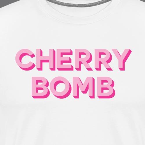 CHERRY BOMB Tee Shirts - T-shirt Premium Homme