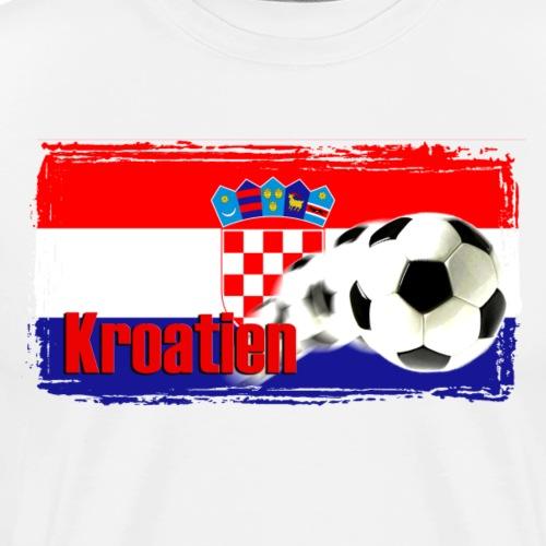 Kroatien Fussball - Männer Premium T-Shirt