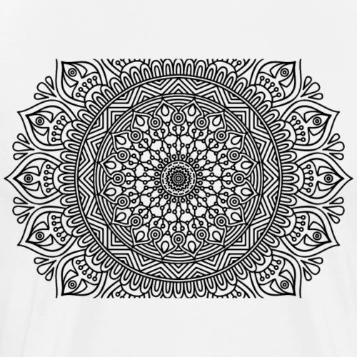 mandala3 - Men's Premium T-Shirt
