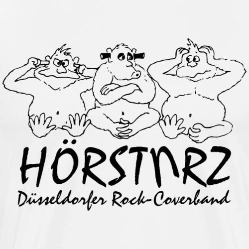 hoersturz logo komplett vektorisiert di - Männer Premium T-Shirt