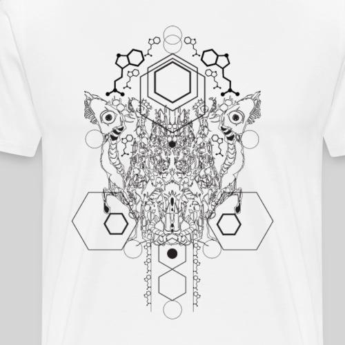 Psychedelic Flow - Männer Premium T-Shirt