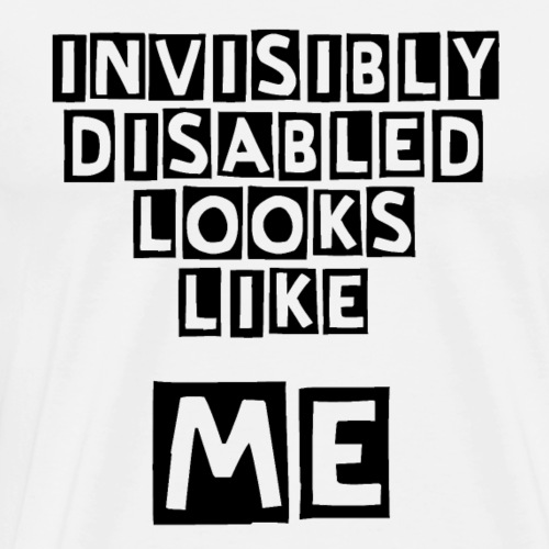 Invisibly Disabled - Men's Premium T-Shirt