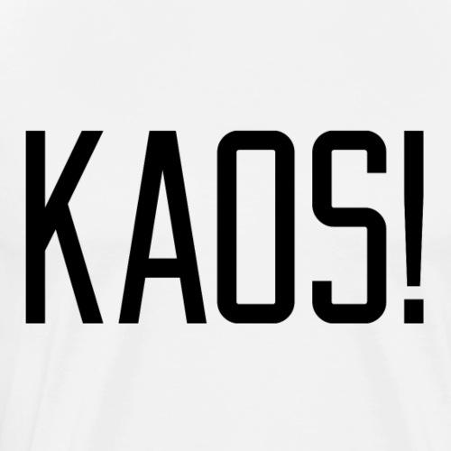 KAOS BLACK - Premium T-skjorte for menn