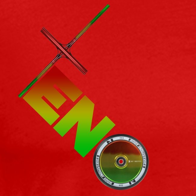 Scooter Logo - Rasta
