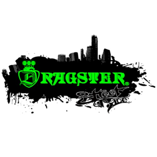 DRAGSTER WEAR - Maglietta Premium da uomo