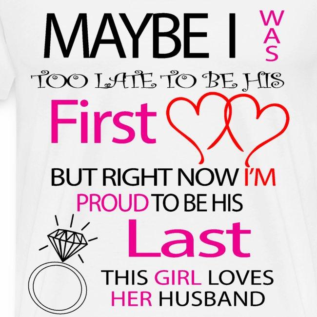 I love my husband - gift idea