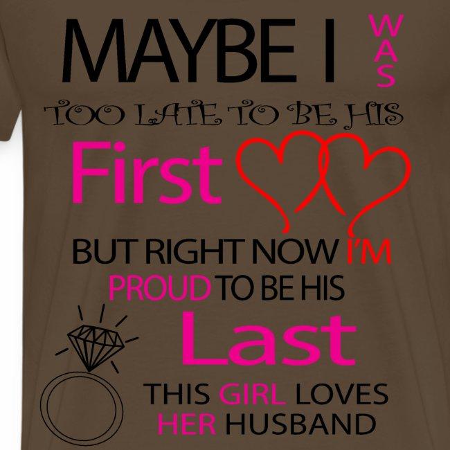 Ich liebe meinen Mann - Geschenkidee