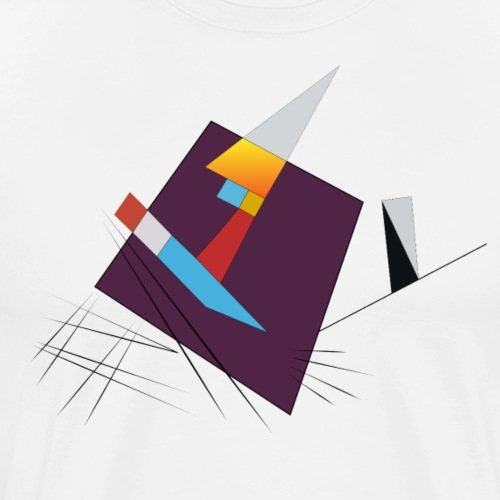 Suprématisme Russe#2 - T-shirt Premium Homme