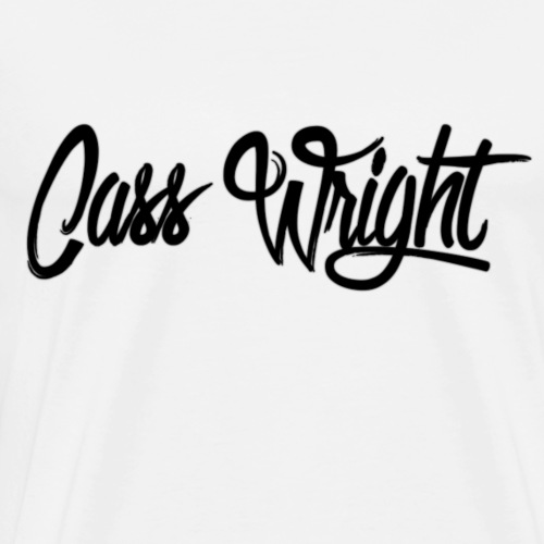 cass wright signature - Men's Premium T-Shirt