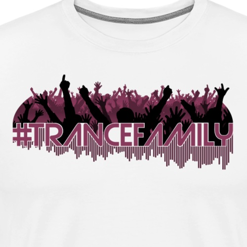 Trance Family (Dark) - Premium-T-shirt herr