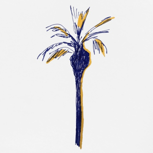 Palm No 1 - Männer Premium T-Shirt