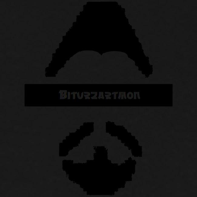 Biturzartmon Logo asiatisch schwarz