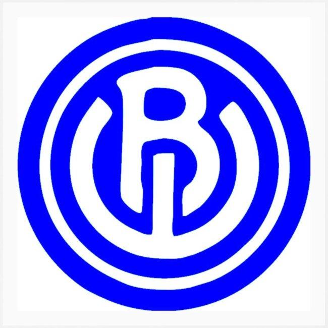 logo blauw wit
