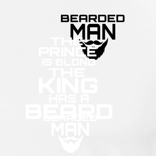 bearded logo - Maglietta Premium da uomo
