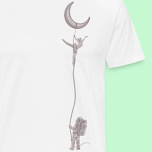 baile en la luna - Camiseta premium hombre