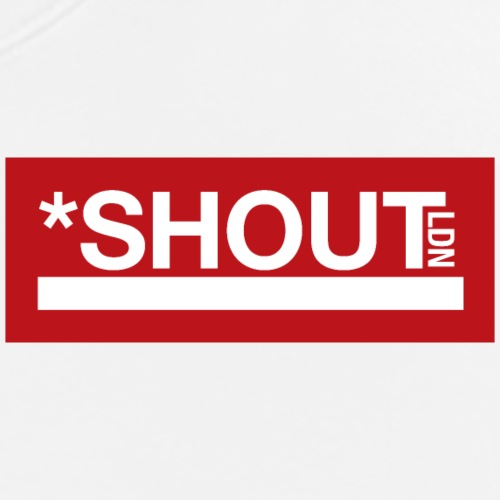 Shout LDN Logo Red - Men's Premium T-Shirt