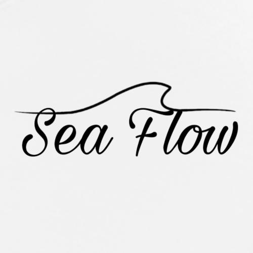 Sea Flow logo bianco abbigliamento - accessori