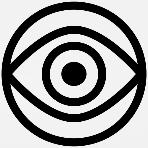 The All Seeing Eye - Men's Premium T-Shirt