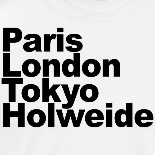Paris London Tokyo Holweide - Männer Premium T-Shirt