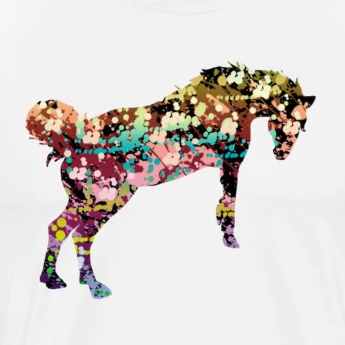 cheval liberté - T-shirt Premium Homme