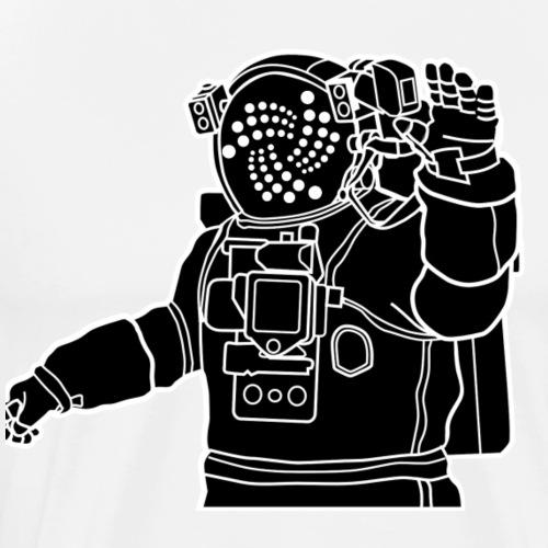 IOTA TANGEL LOGO Shirt Geschenk - Männer Premium T-Shirt