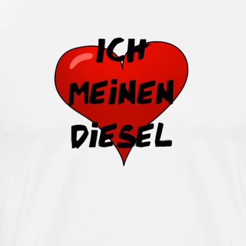 Diesel Auto Liebe - Männer Premium T-Shirt