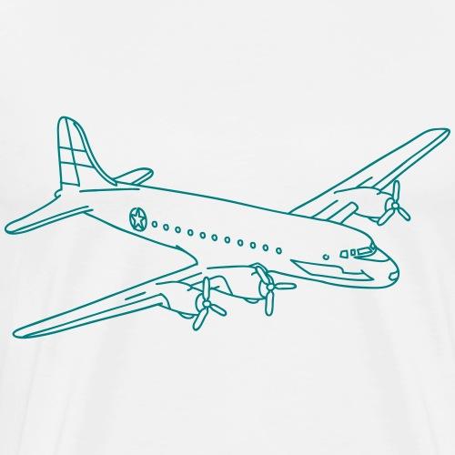 Flugzeug - Männer Premium T-Shirt