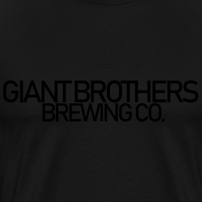 Giant Brothers Brewing co SVART