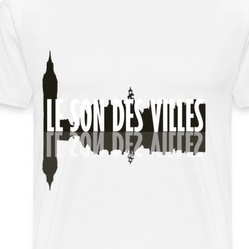 The wall by Le Son Des Villes - T-shirt Premium Homme
