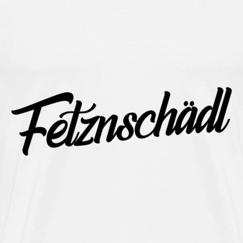 Fetznschädl Deppater Geschenk Lustig Provokant - Männer Premium T-Shirt
